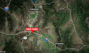 Three Forks Map