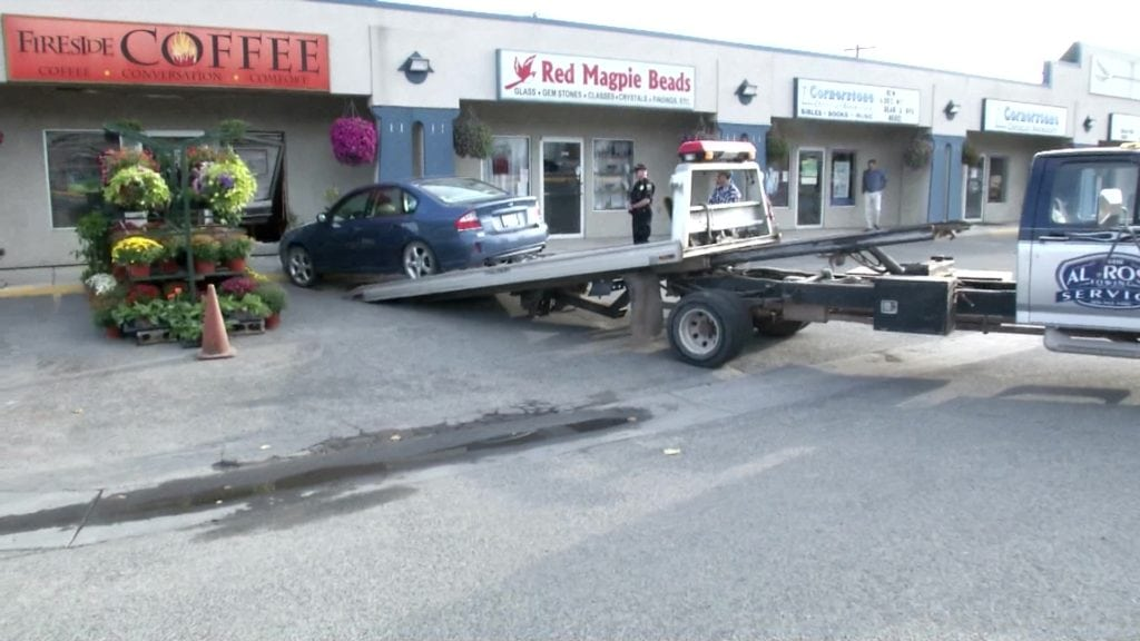 Car crashes into Fireside Coffee in Helena