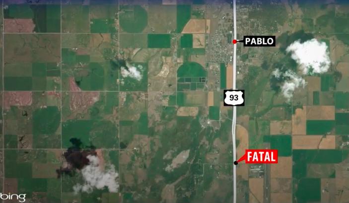 Pablo Fatal Crash Map