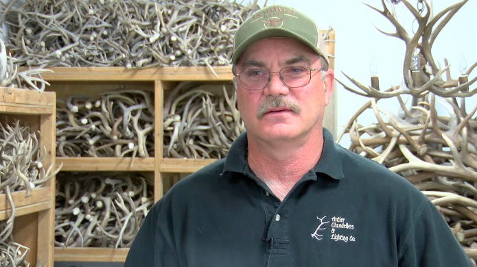Jim Swanson - Montana Made: Antler Chandeliers & Lighting Company