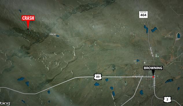 Browning Crash Map