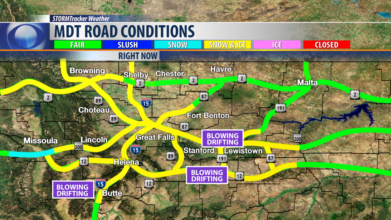 AM Road Conditions