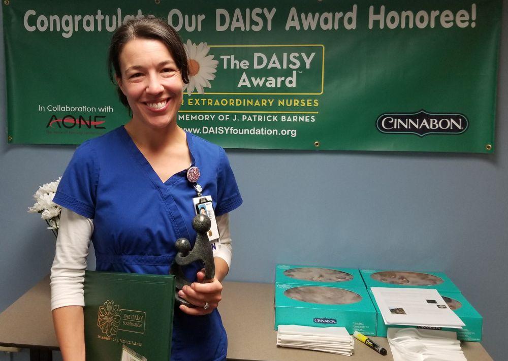 Mary Anderson received the DAISY Award