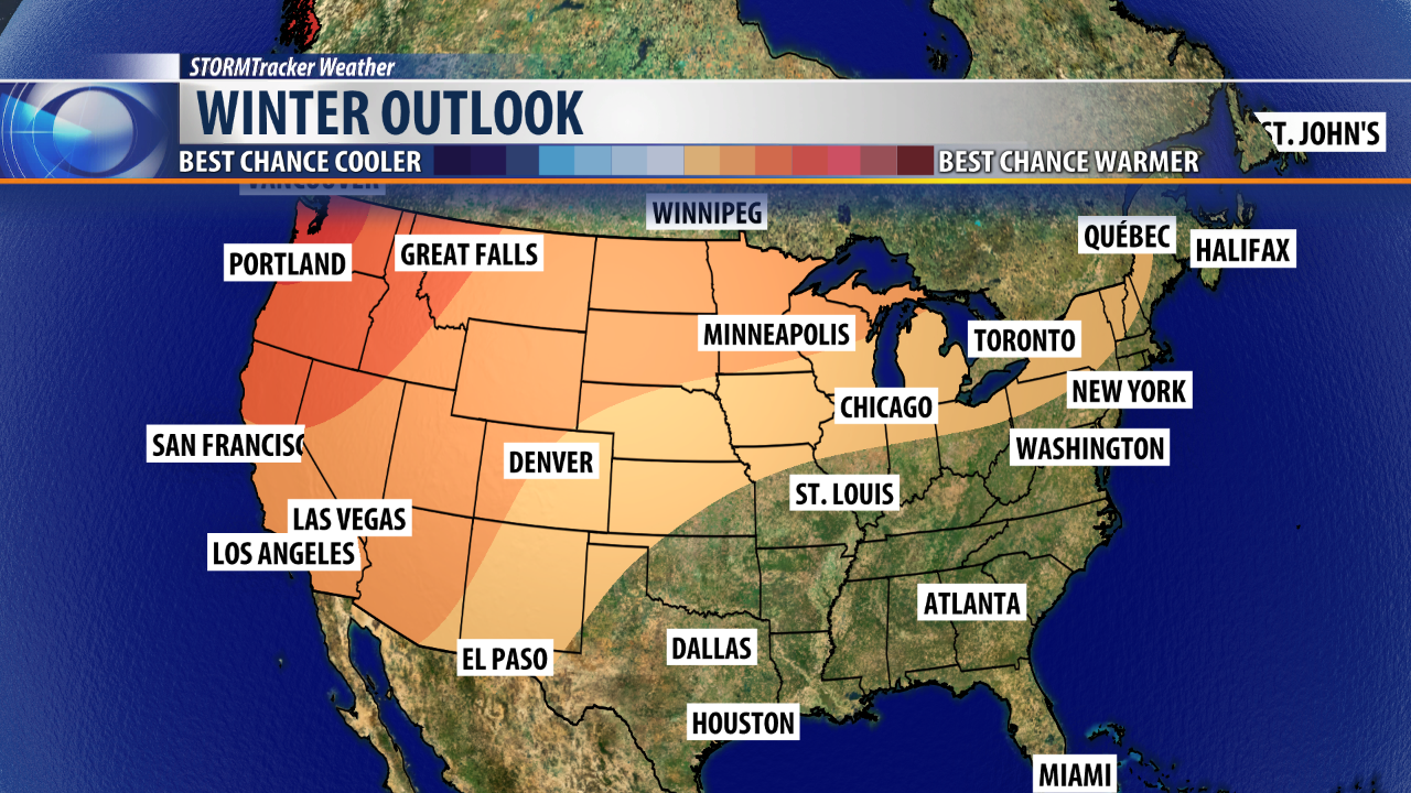 Warmer than average weather likely