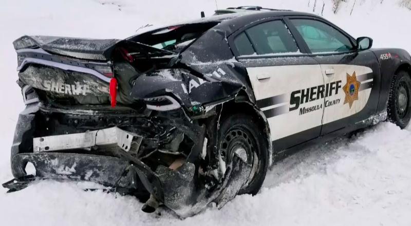 Missoula County Sheriff's Sergeant recalls narrowly surviving icy crash