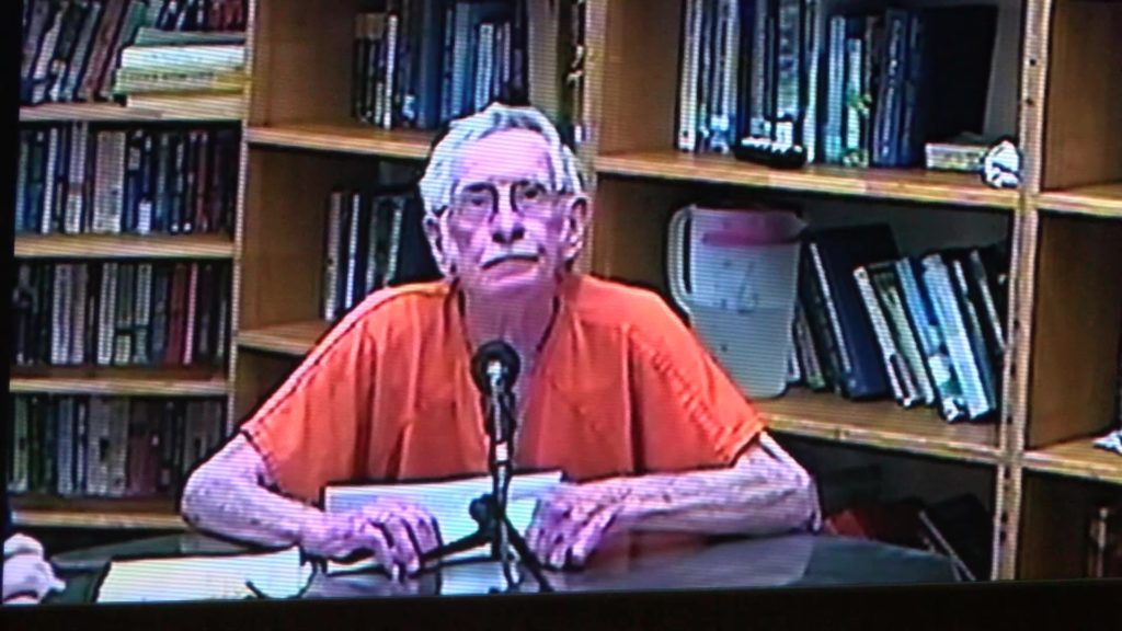 John George, a 73-year old man from Clancy, is accused of driving drunk the wrong way on the interstate on Sunday.