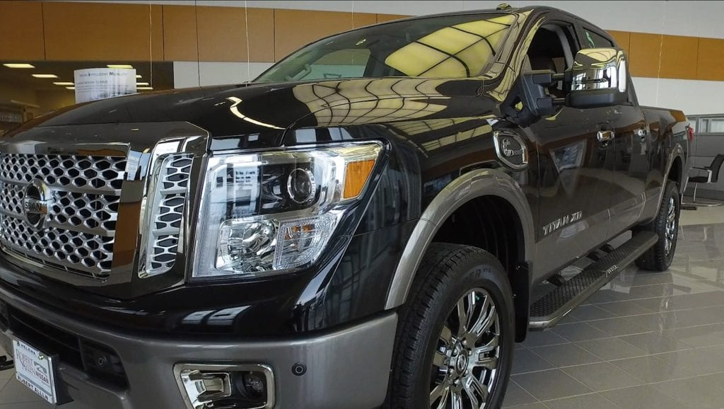 Robert Allen Nissan >> The Titan Truck Is Designed To Fit What People Want