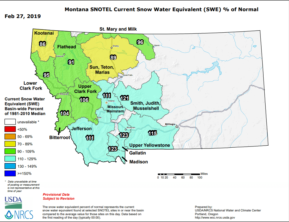 Source: USDA/NRCS National Water and Climate Center