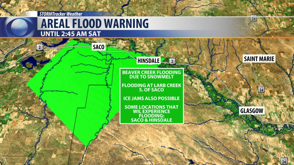Areal Flood Warning