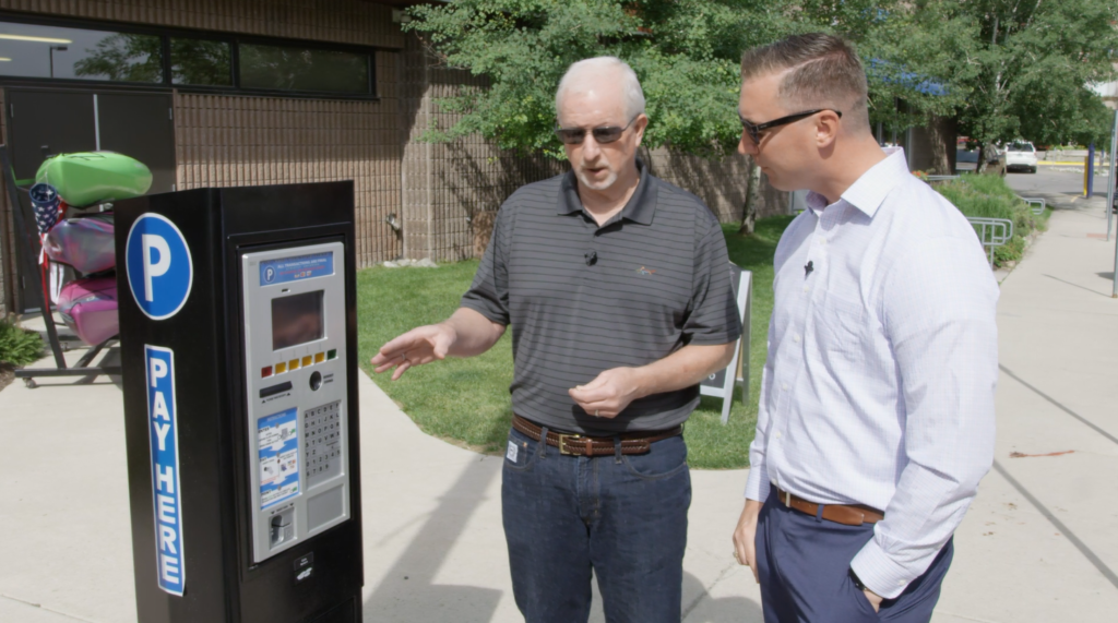 New kiosk smart meters make downtown parking easier