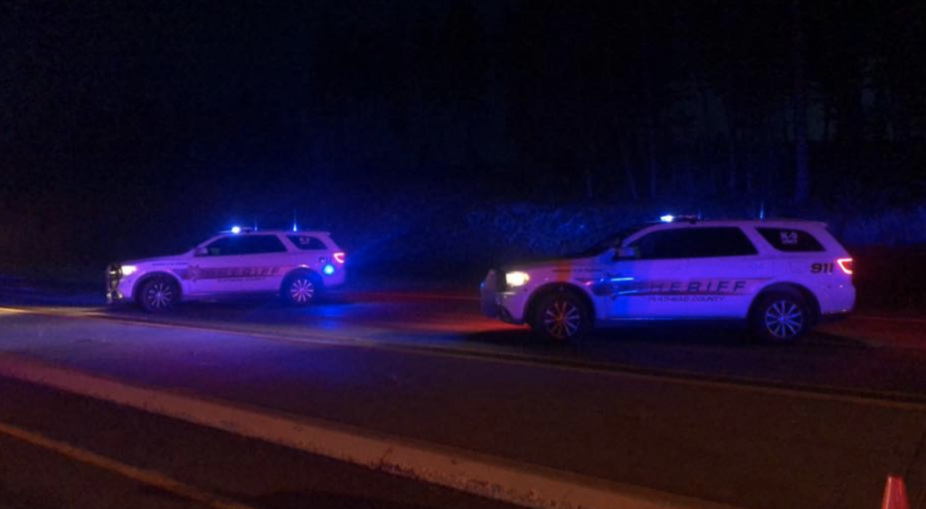 Two people found dead in vehicle after brief pursuit in