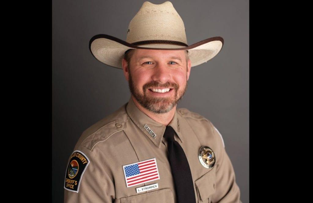 Valley County Sheriff's Deputy Luke Strommen