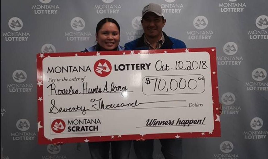 Montana waitress turns a tip into a $70K lottery win (Montana Lottery photo)