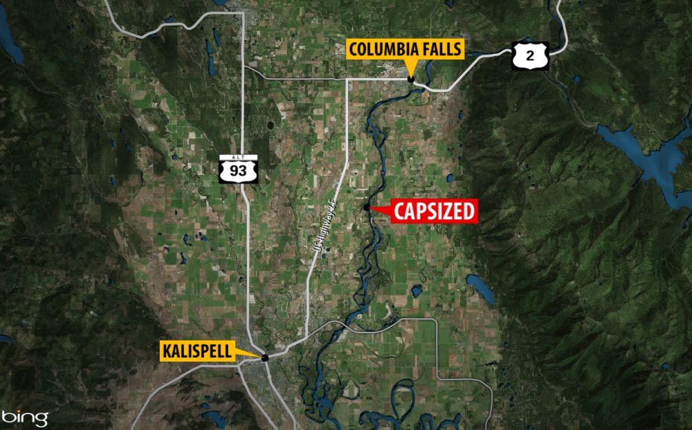 Columbia Falls man dies after boat capsizes