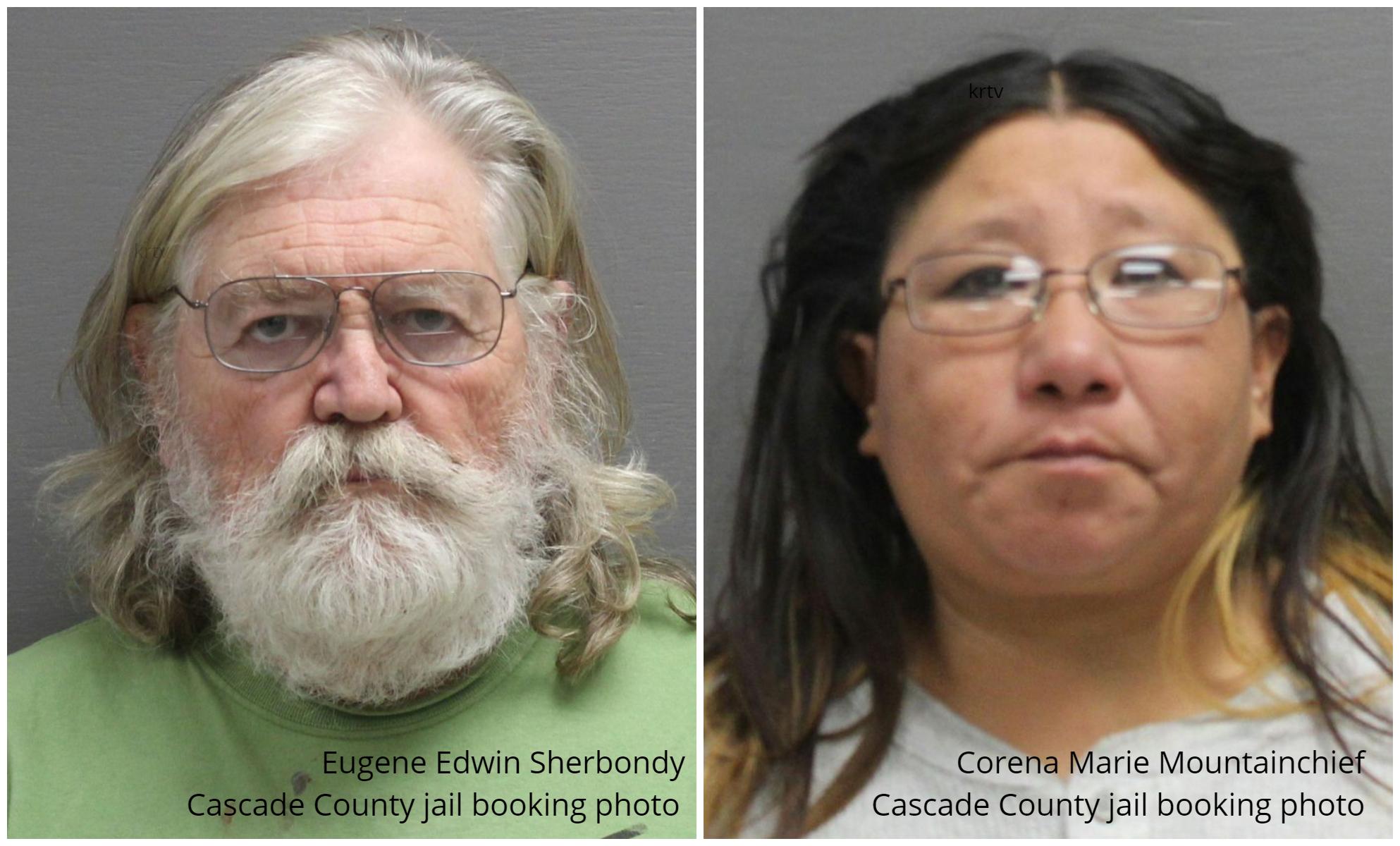 Eugene Edwin Sherbondy and Corena Marie Mountainchief