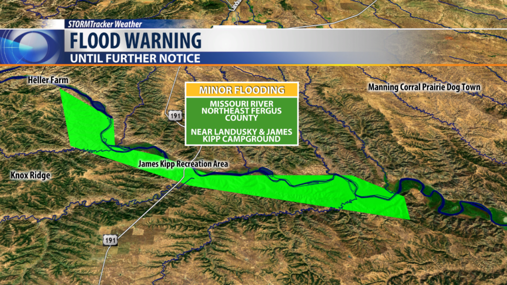 Flood Warning- Missouri River