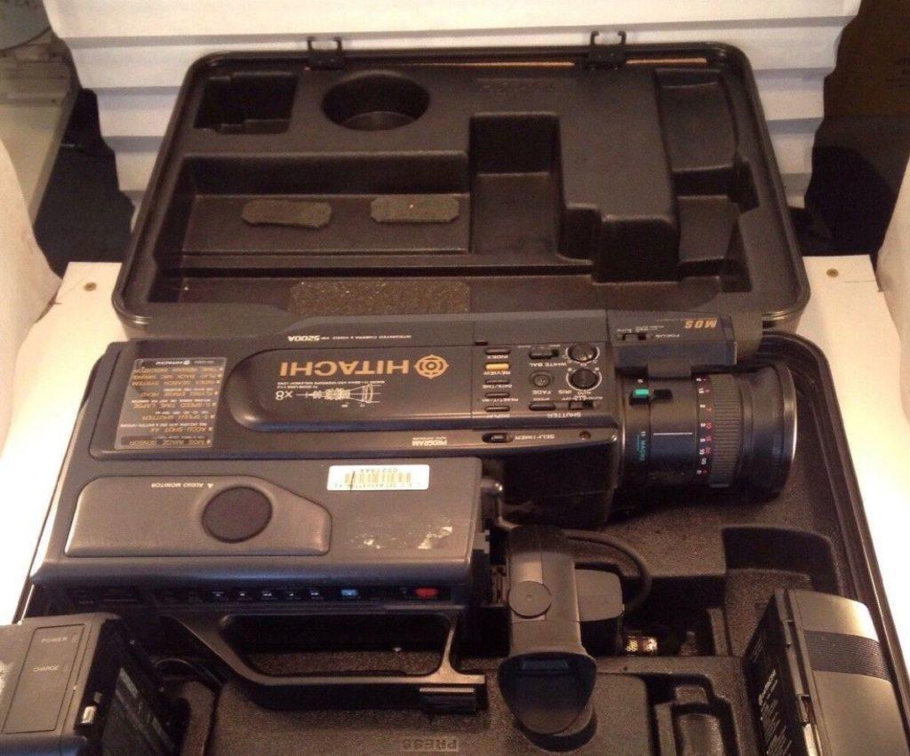 1991 Cold Case Video Camera