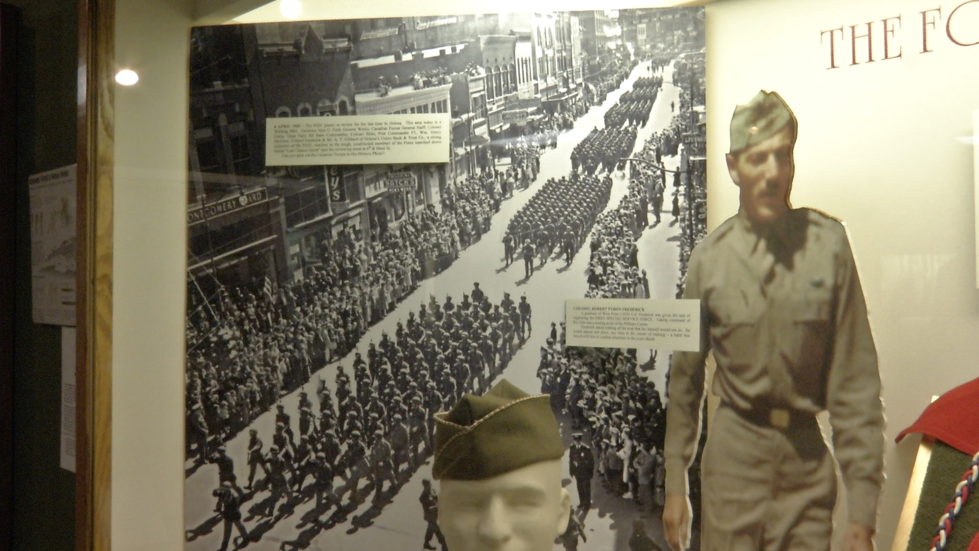 First Special Service Force Exhibit